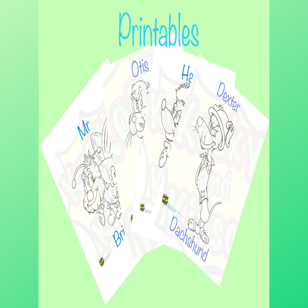 canva crimbley printables  colour