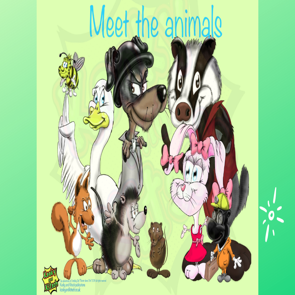 canva meet the animals